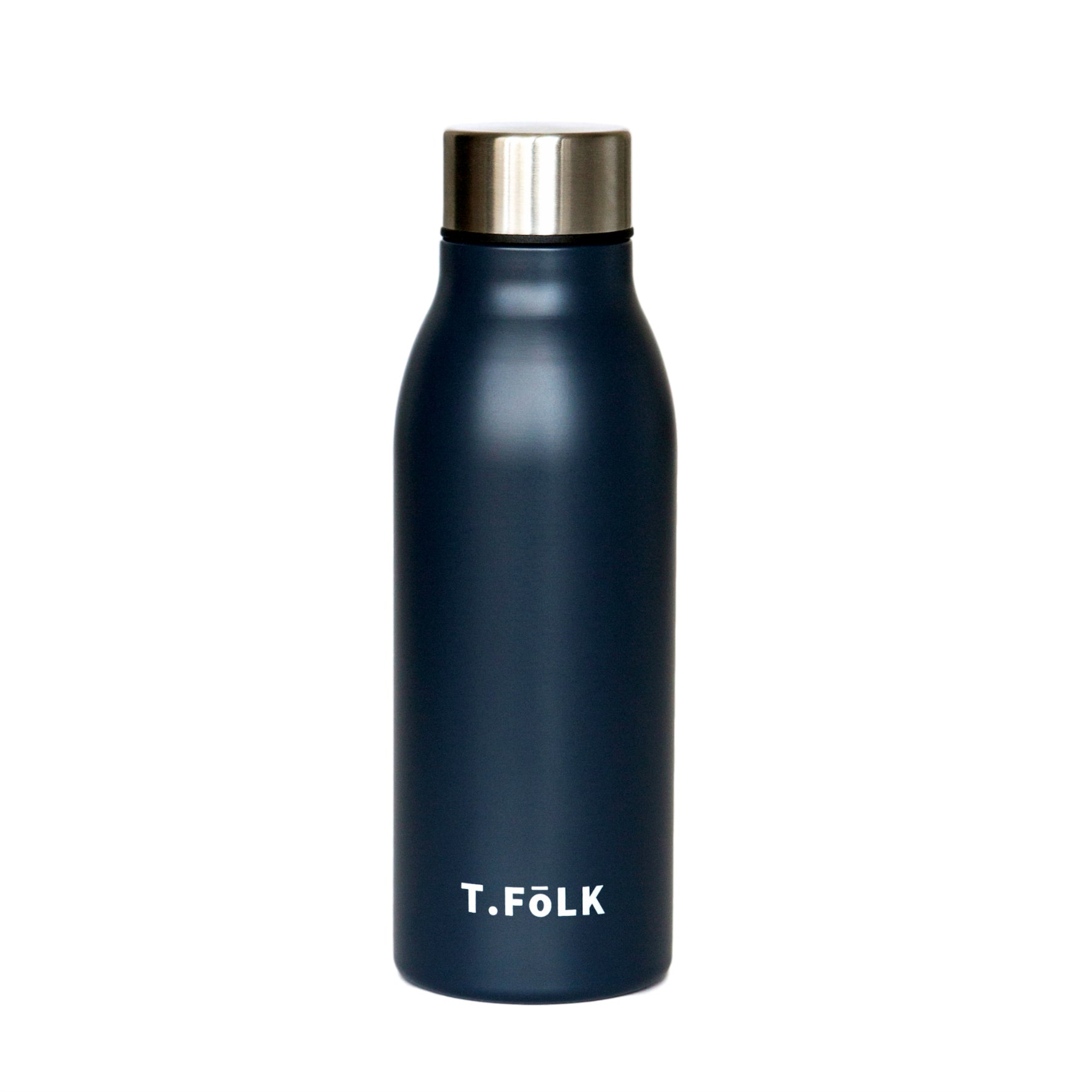 Stainless Steel Insulated Water Bottle Matte Navy Neutral Australia