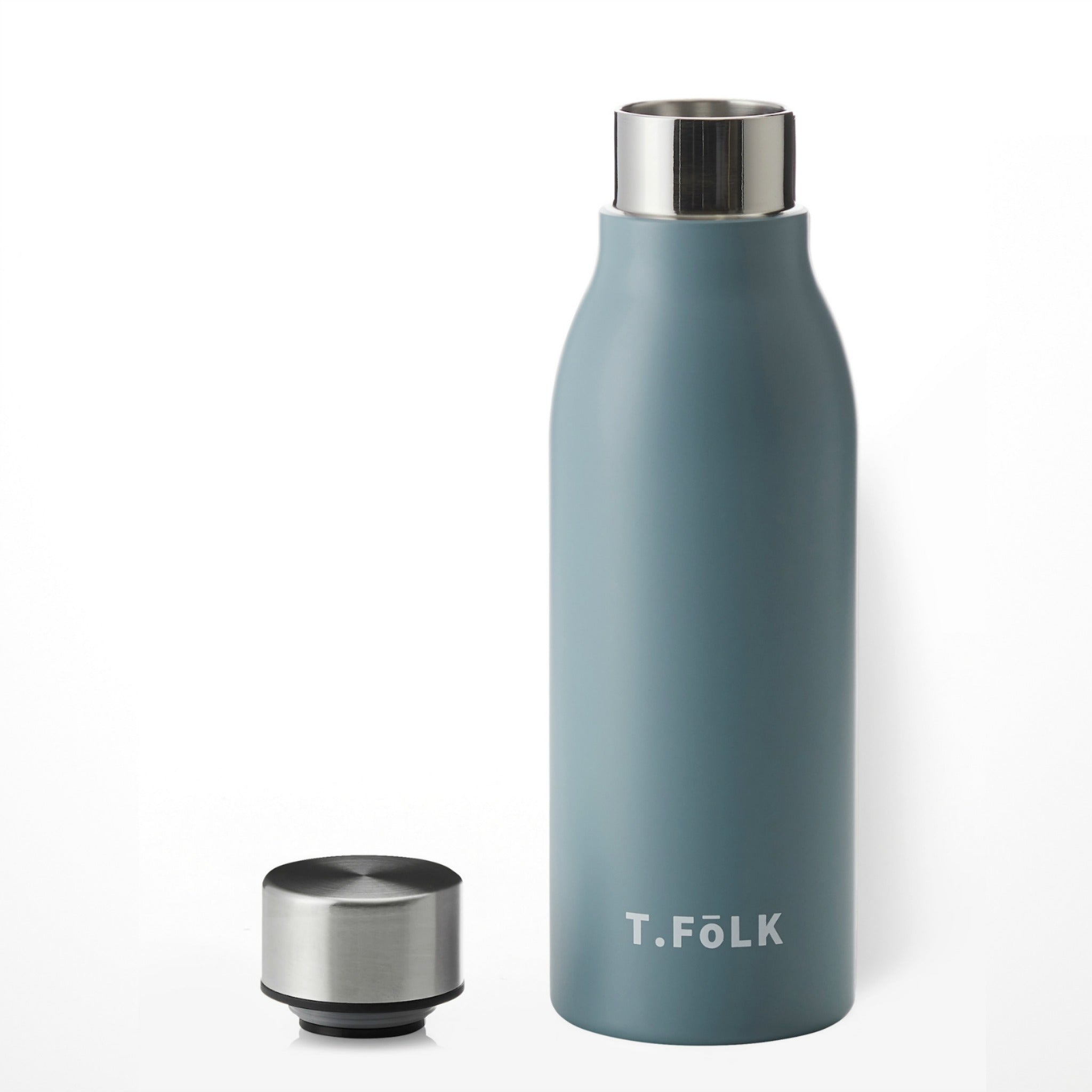 Stainless Steel Insulated Water Bottle Matte Green Neutral Australia open