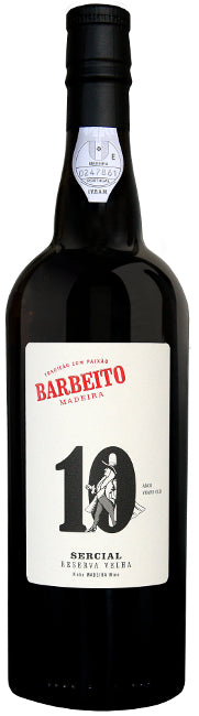 Barbeito Sercial Madeira 10 Years Old