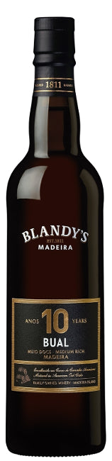 Blandy's 10 Years Old Bual Madeira