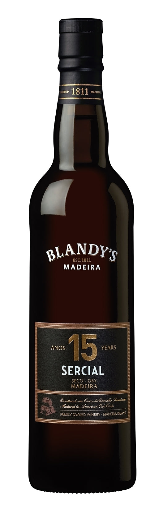 Blandy 15 Year Old Sercial Madeira