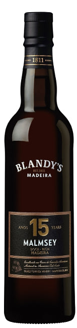 Blandy 15 Years Old Malmsey Madeira