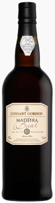Cossart Gordon 10 Years Old Bual Madeira