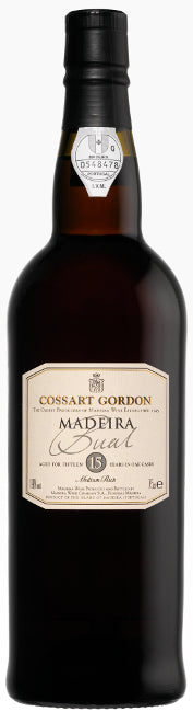 Cossart Gordon 15 Years Old Bual Madeira