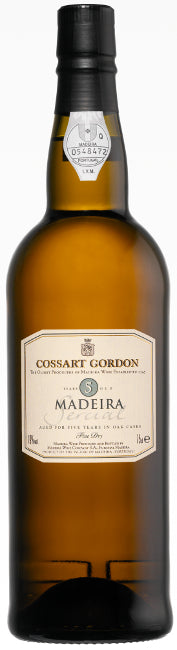Cossart Gordon 5 Years Old Sercial Madeira
