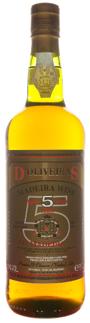 d'Oliveiras 5 Years Old dry