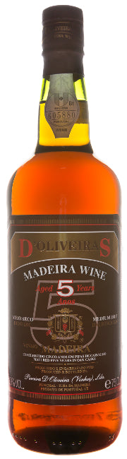 d'Oliveiras 5 Years Old half-dry