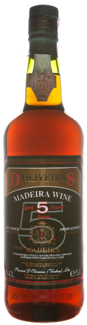 d'Oliveiras 5 Years Old half-sweet