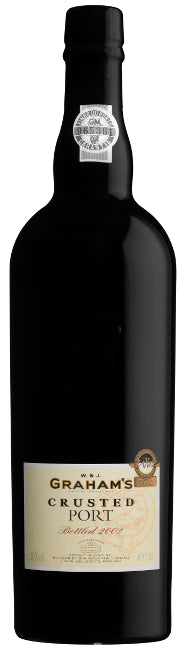 Graham's Crusted Port bottled 2007  75cl