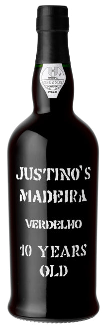 Justino 10 Years Old Verdelho halbtrocken Madeira  75cl