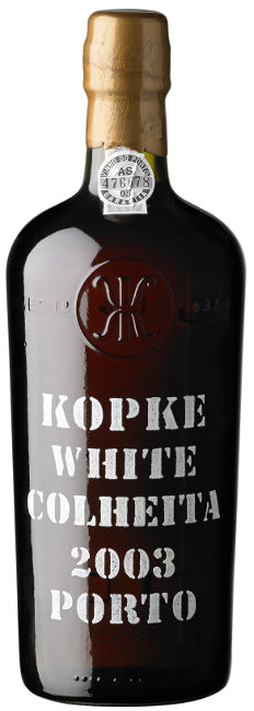 Kopke White Colheita Port 2003  75cl