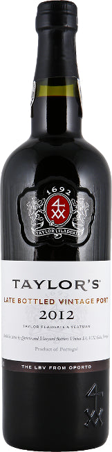 Taylor's Late Bottled Vintage Port 2012  75cl