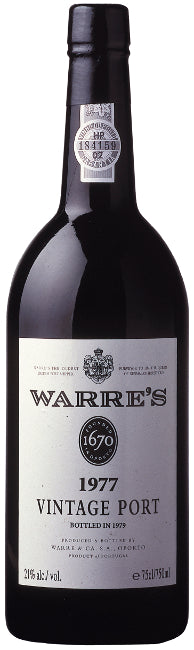 Warre's Vintage Port 1977  75cl