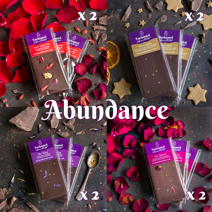 Join Aradhana's Raw Chocolate Club and receive the Abundance parcel every month