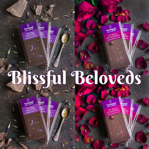 Join Aradhana's Raw Chocolate Club and receive the Blissful Beloveds parcel every month