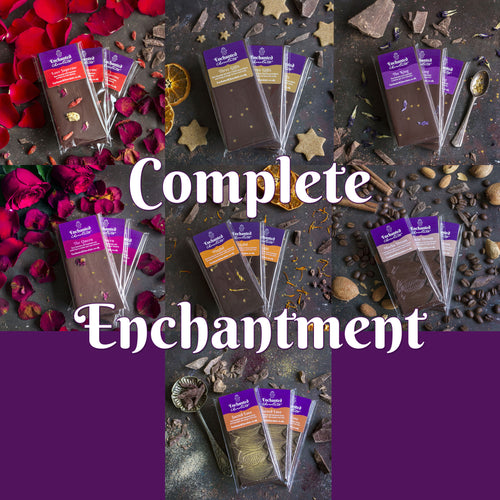 Join Aradhana's Raw Chocolate Club and receive the Complete Enchantment parcel every month
