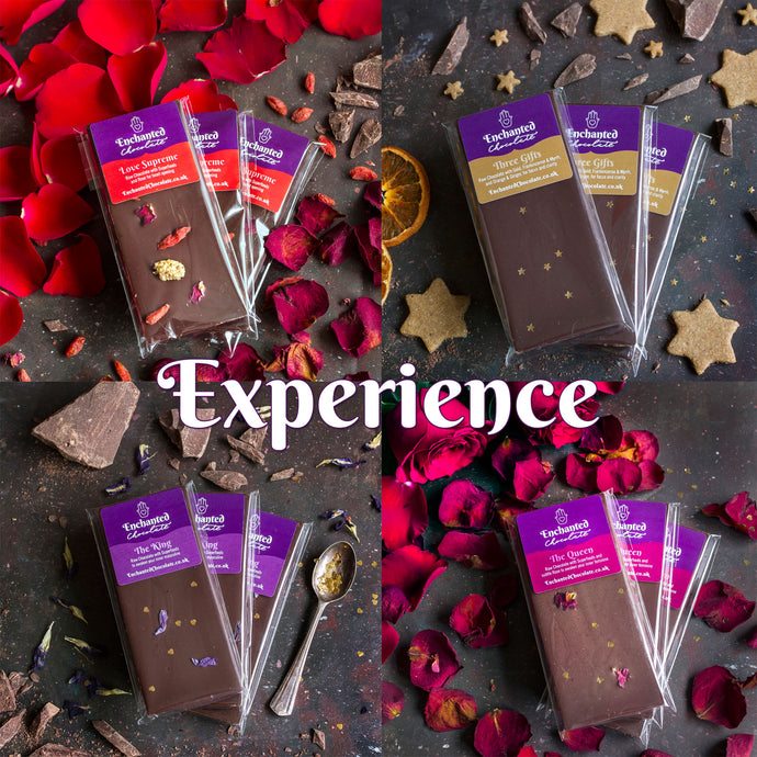 Join Aradhana's Raw Chocolate Club and receive the Experience parcel every month