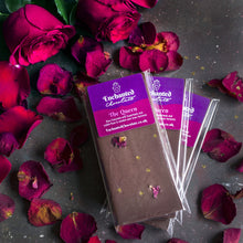 The Queen raw chocolate bar, 50g, with subtle rose and superfoods to awaken your inner feminine