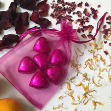 Chocolate For A Goddess Hearts in a Gift Bag