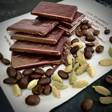 Cardamom Coffee After Dinner Raw Chocolate Thins - gift bag