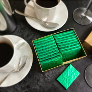Peppermint Starlight After Dinner Raw Chocolate Thins - gift box