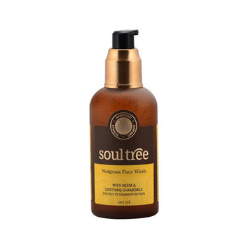 Detergente viso Nutgrass, Neem e Camomilla-SOULTREE-Local Beauty