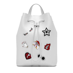 Silver Sticker Bag
