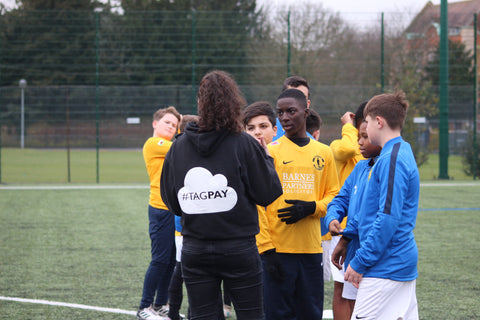 TAGPAY stats team runs Turnstyles Football Academy trial day