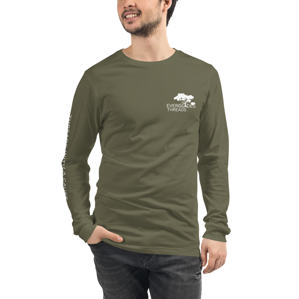 Everglades Threads Cause Classic Long Sleeve Tee