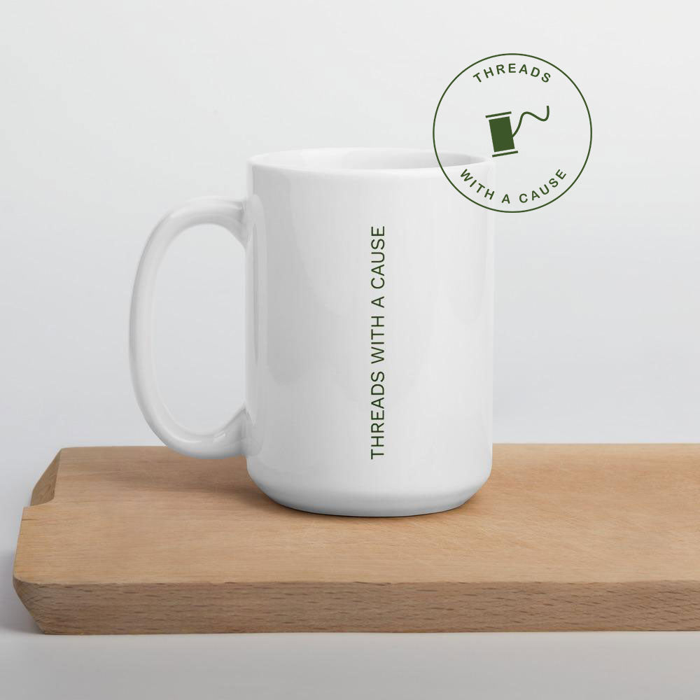 Everglades Threads Cause 15 oz Mug