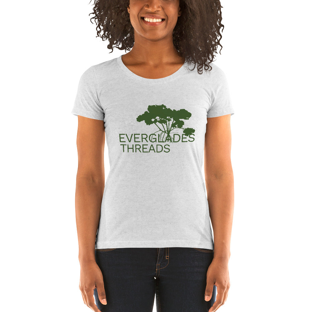 Everglades Threads Cause Women's Slim Fit Tee