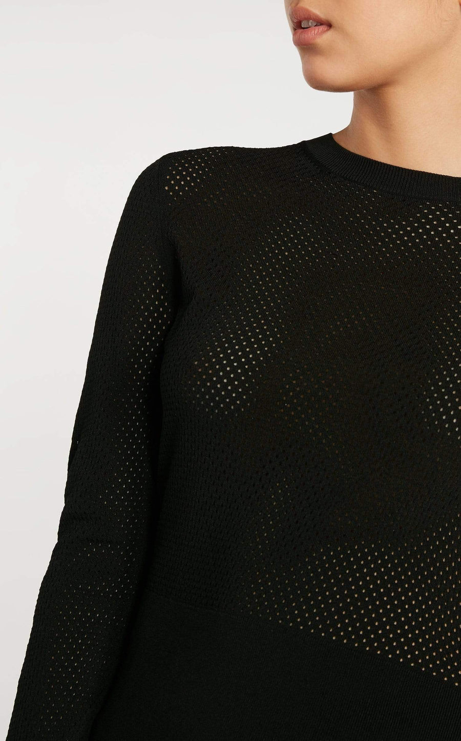Ashcroft Top In Black from Roland Mouret
