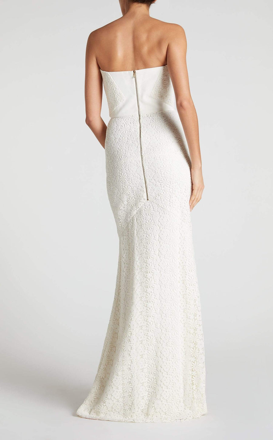 Bella Gown In White from Roland Mouret