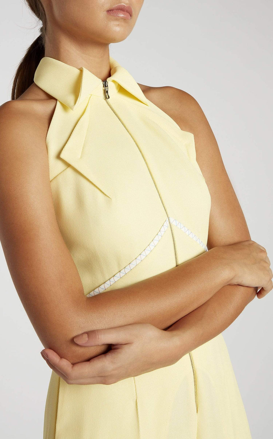 Carabelle Jumpsuit In Jasmine Yellow from Roland Mouret