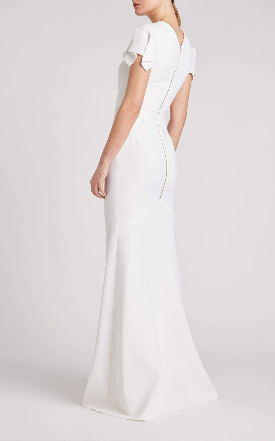 Clovelly Gown In White from Roland Mouret