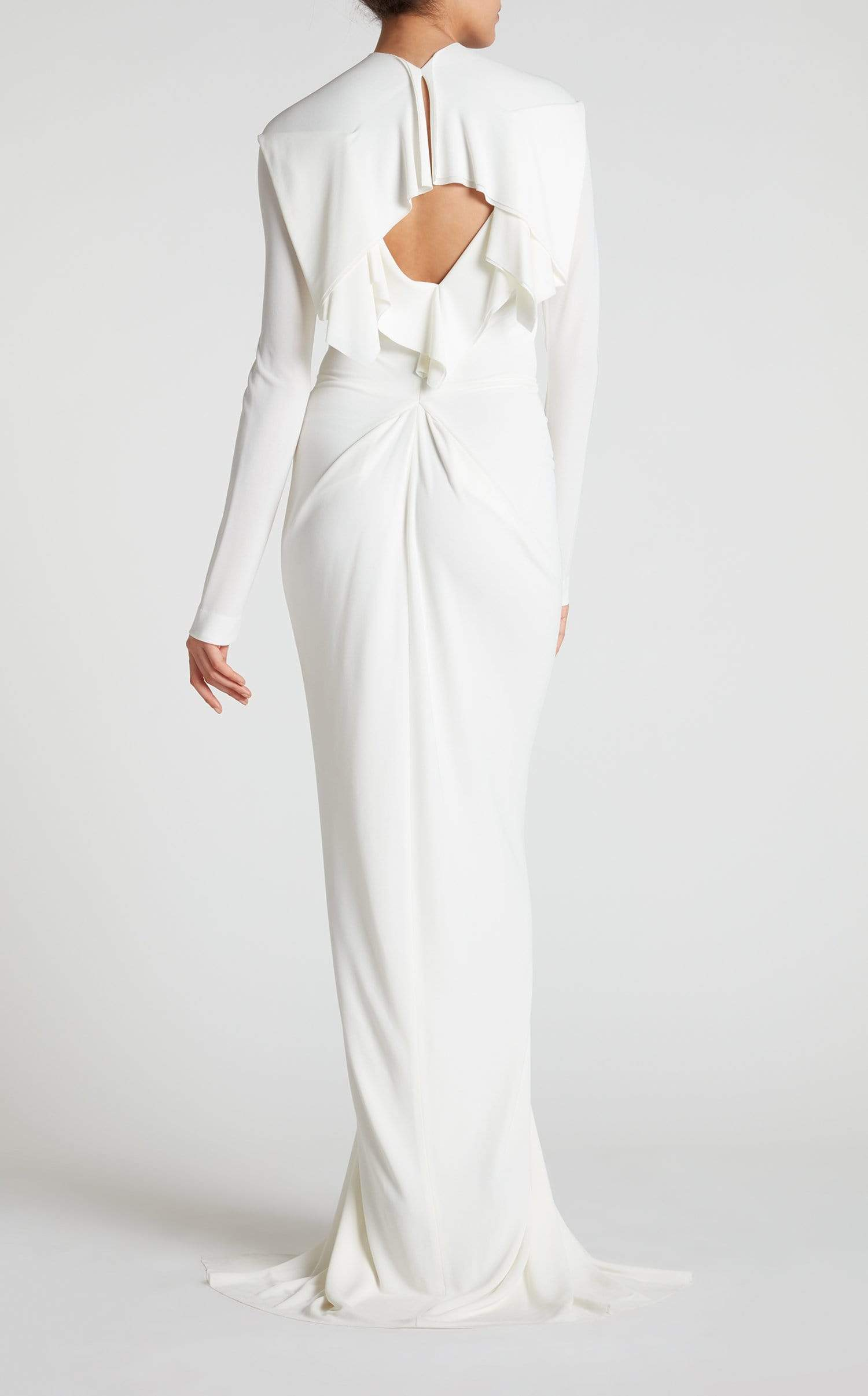 Compeyson Gown In White from Roland Mouret