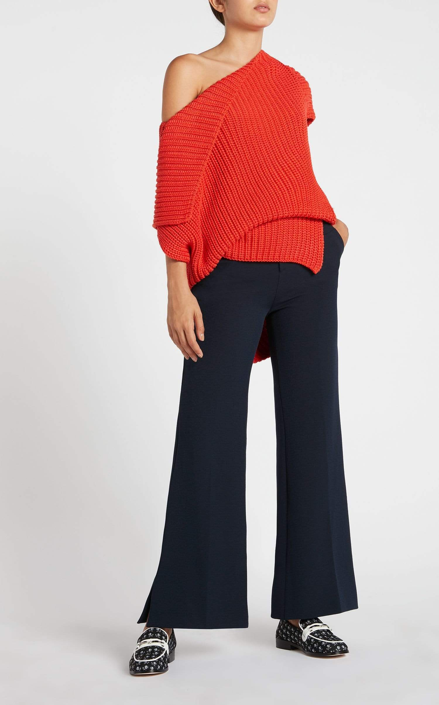 Dilman Trouser In Navy from Roland Mouret