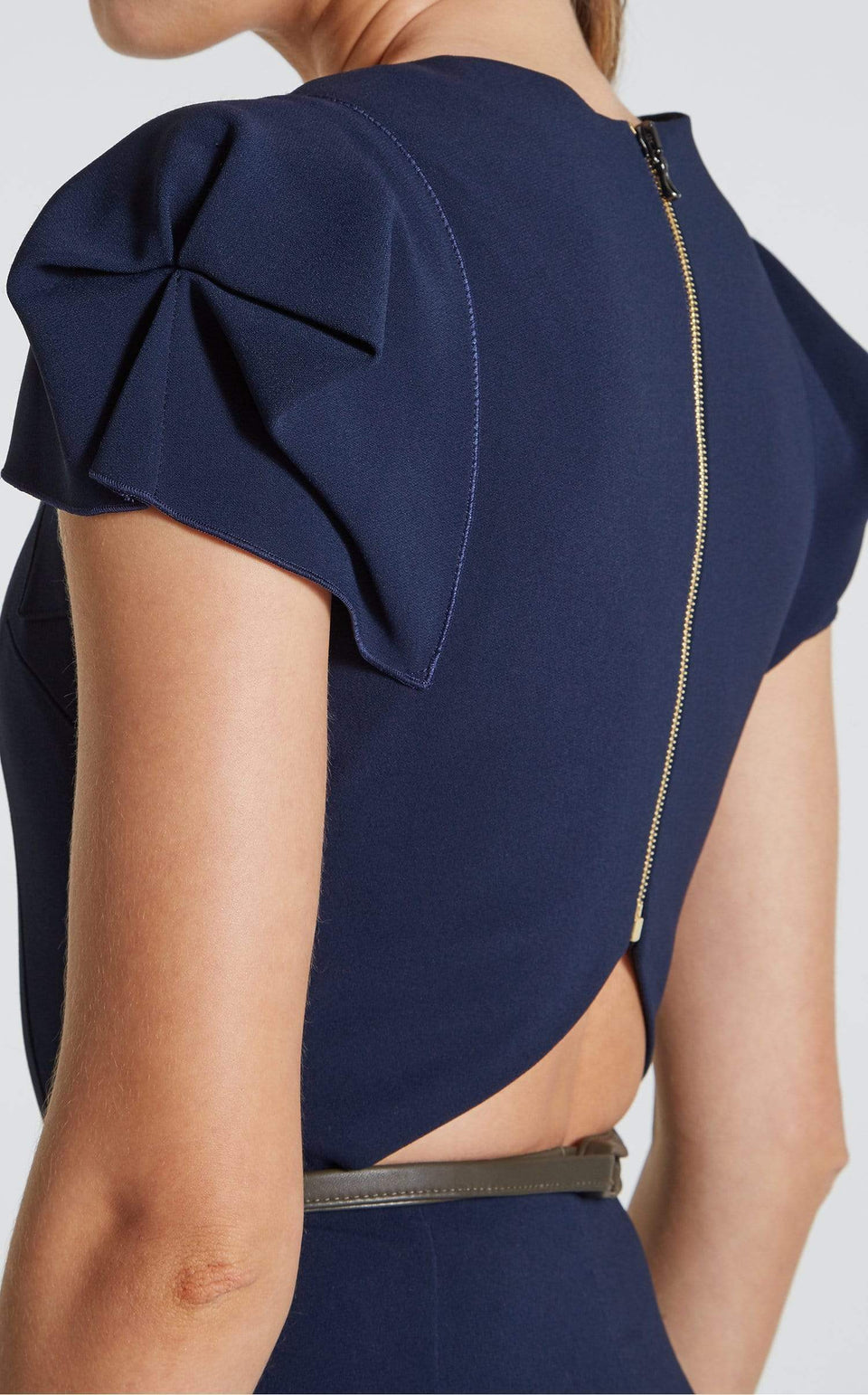 Galaxy Jumpsuit In Navy from Roland Mouret