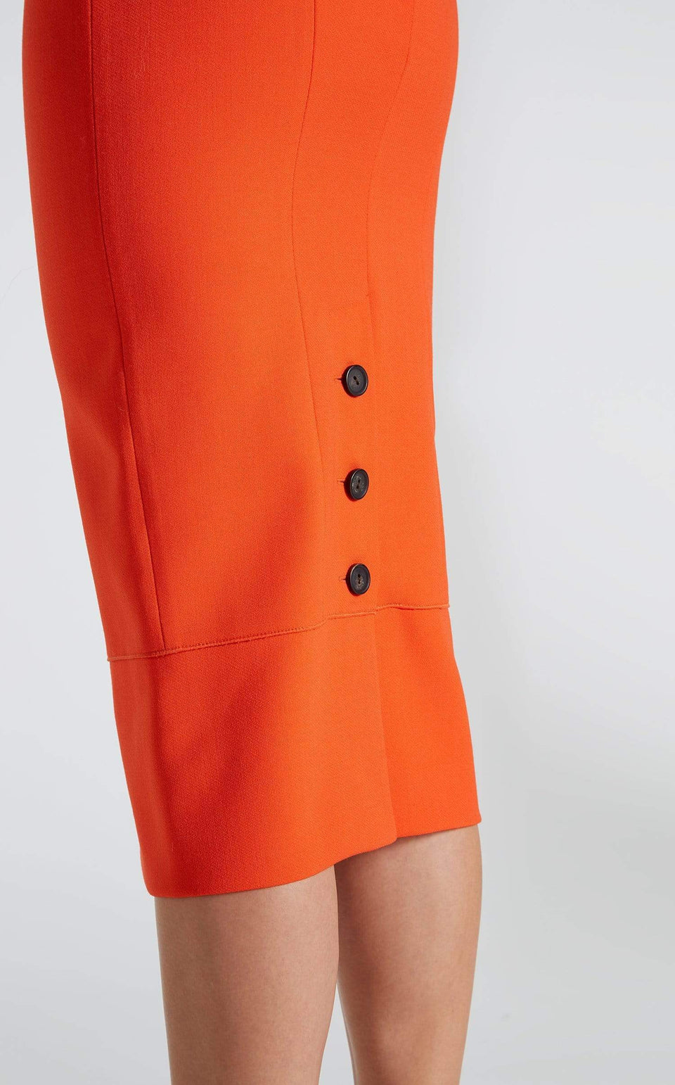 Galaxy Skirt In Bright Orange from Roland Mouret
