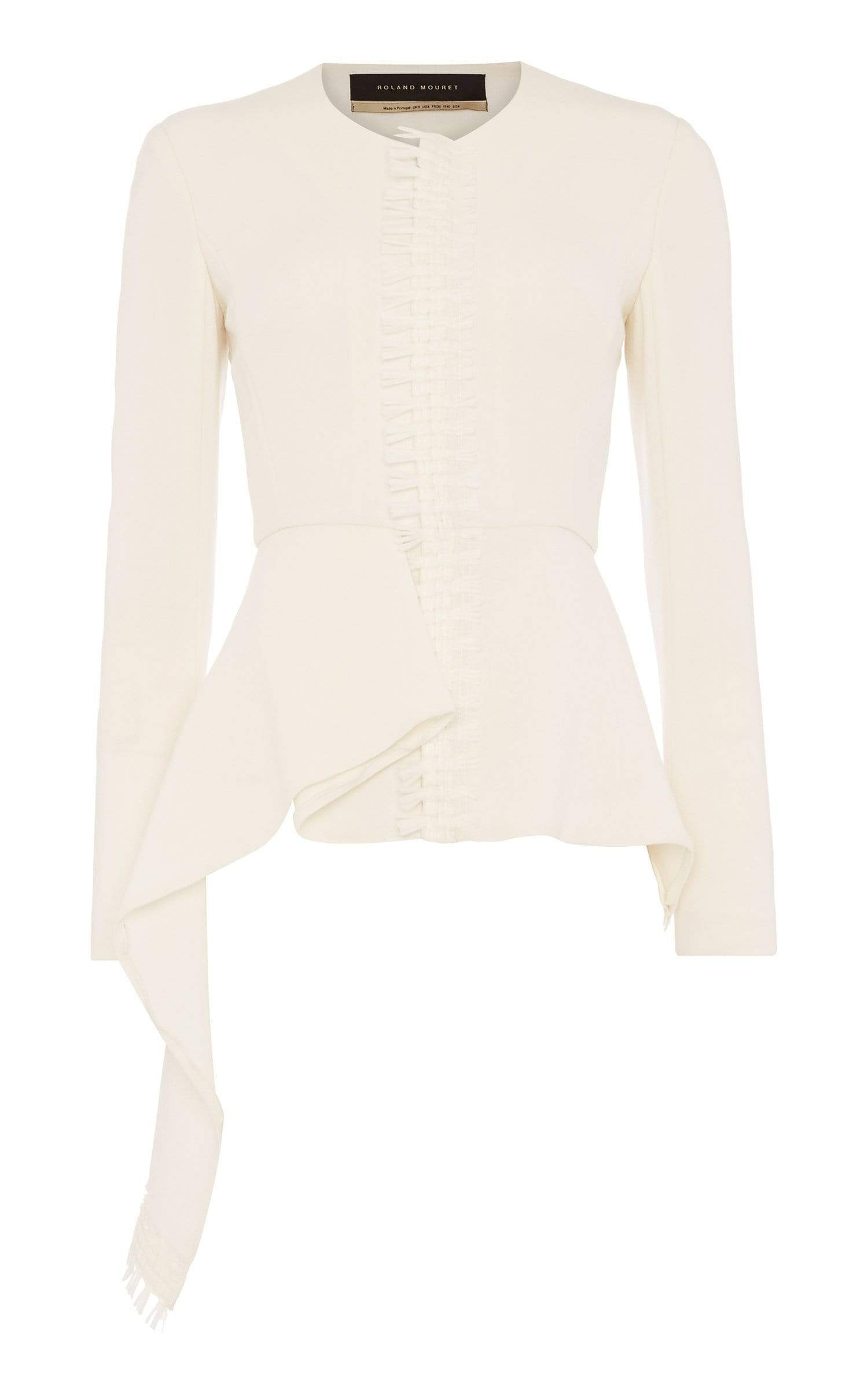 Greenwood Jacket In White from Roland Mouret