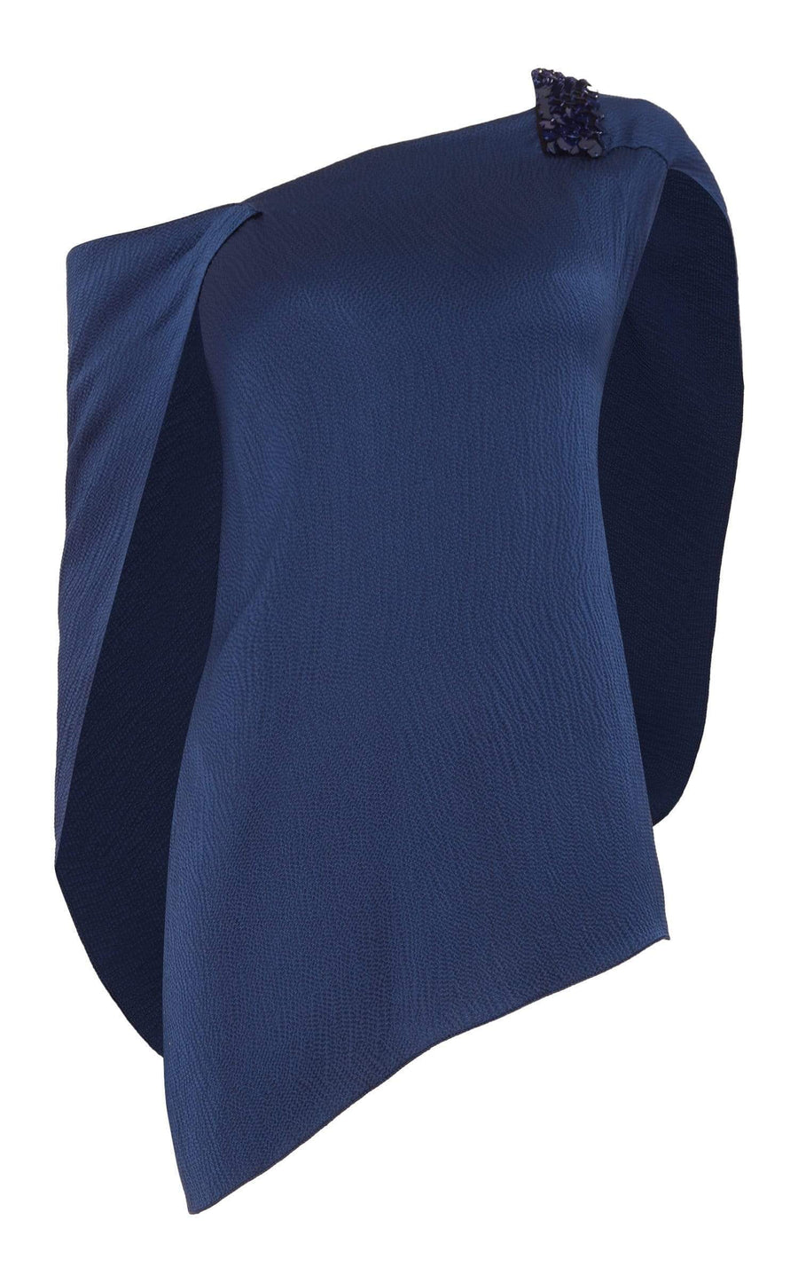 Heartwell Top In Ultramarine from Roland Mouret