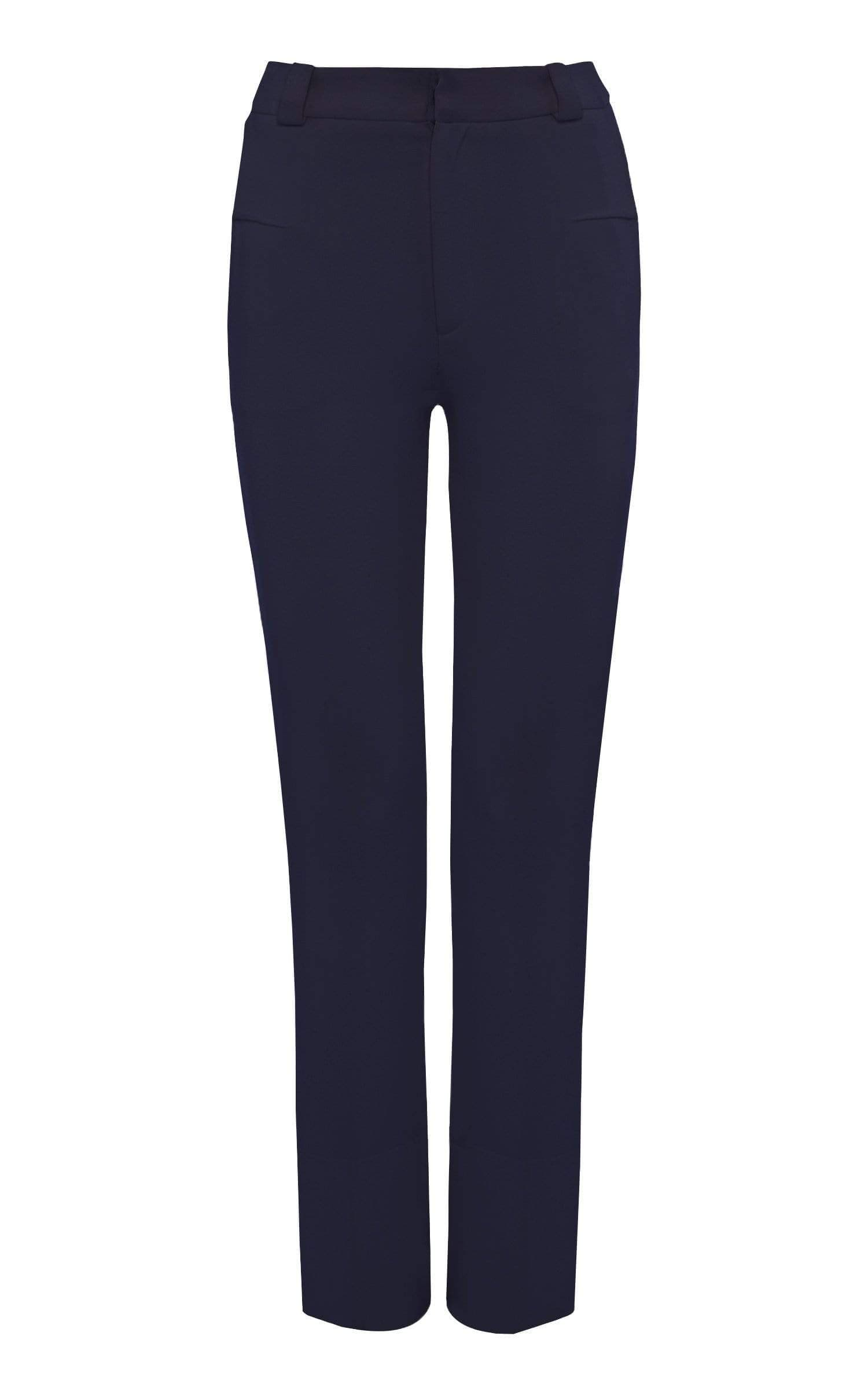 Lacerta Trouser In Navy from Roland Mouret