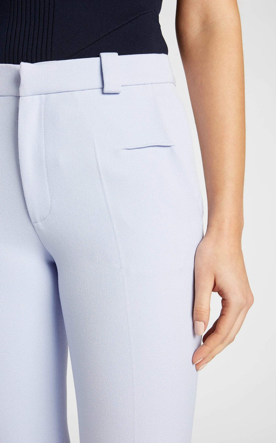 Lacerta Trouser In Ash Blue from Roland Mouret