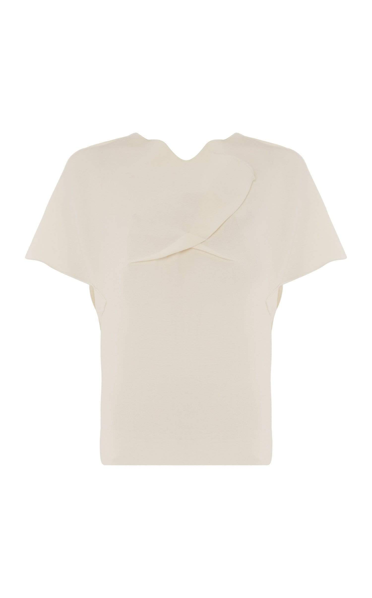 Lindsay Top In White from Roland Mouret