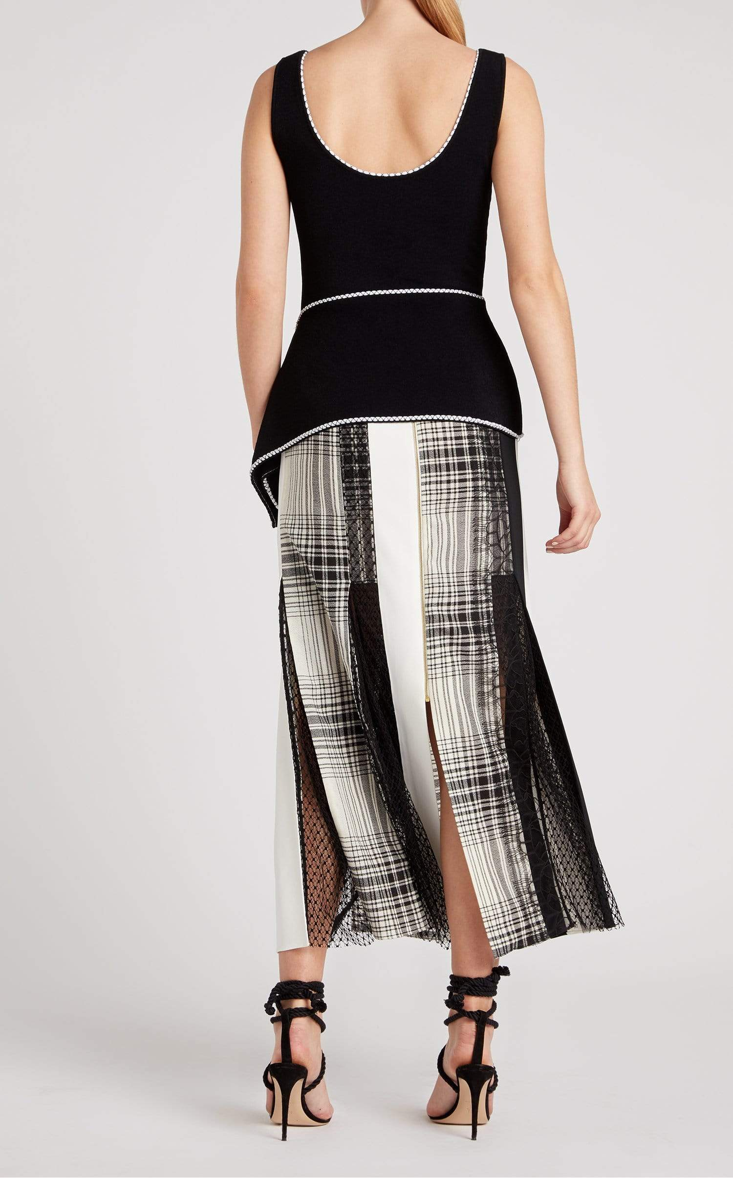 Millport Top In Black/White from Roland Mouret