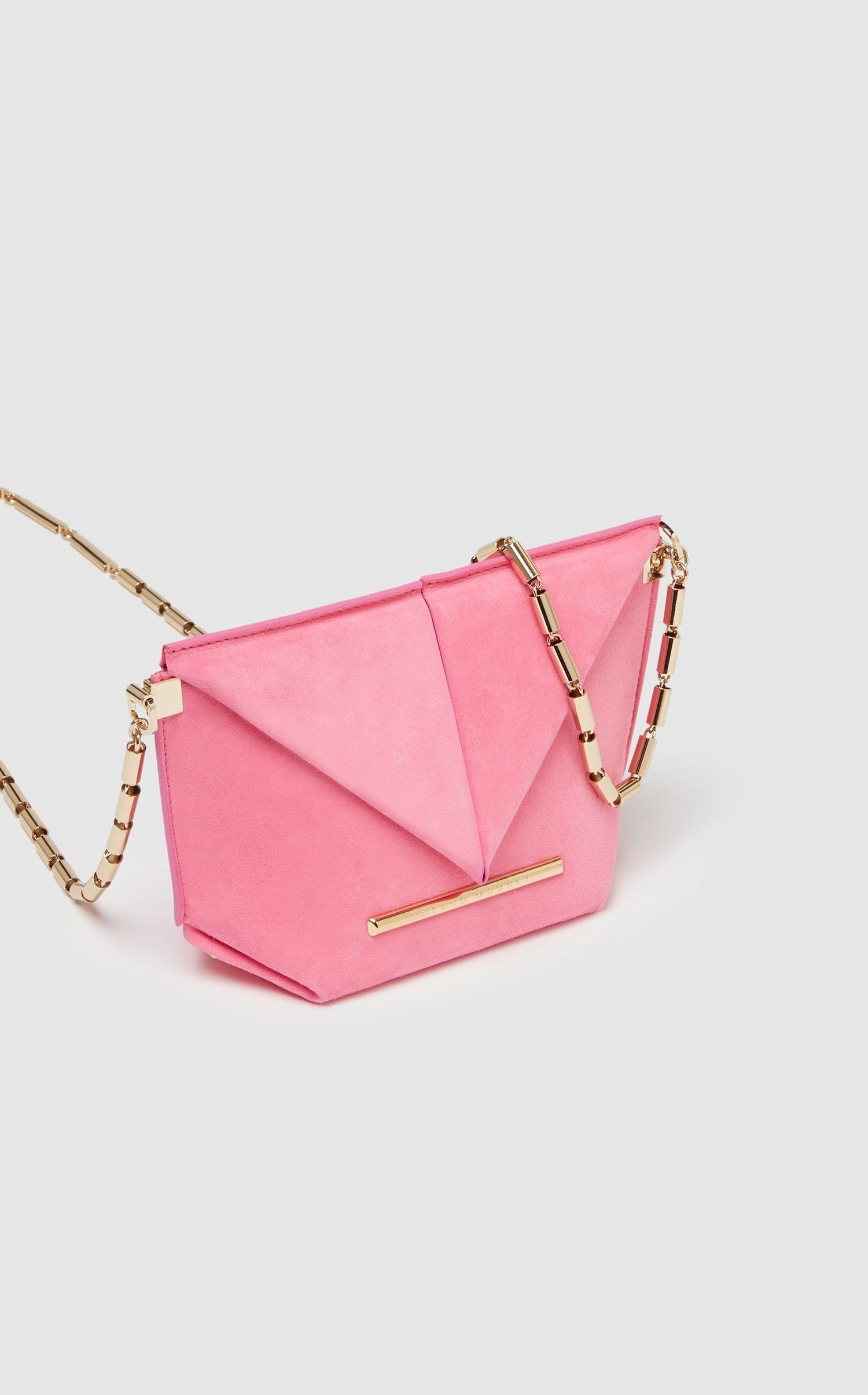 Mini Classico Bag In Candy pink from Roland Mouret