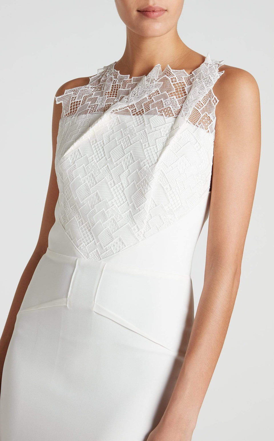 Mirah Gown In White from Roland Mouret