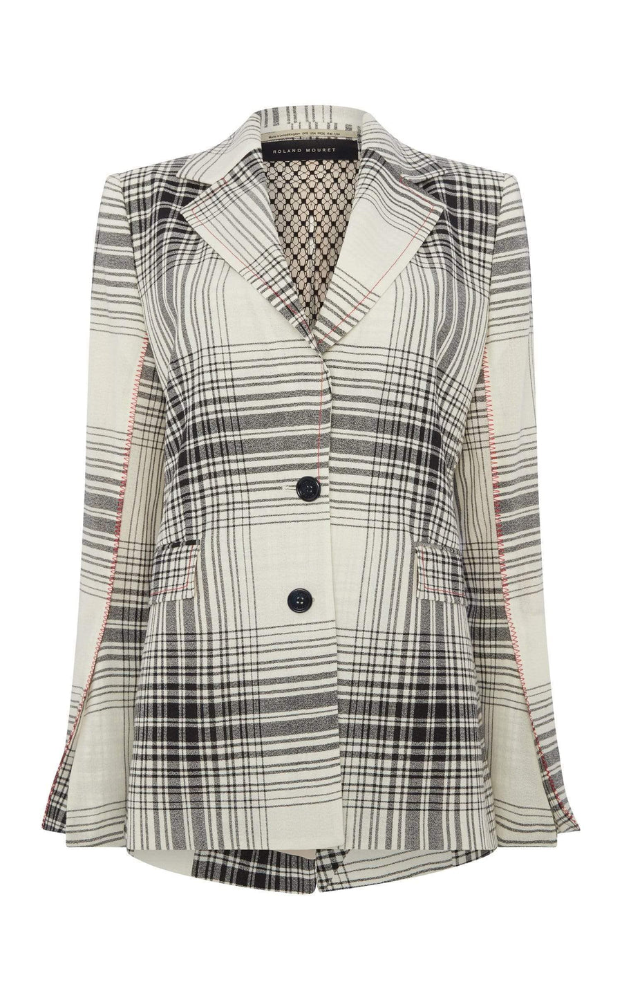 Moorehead Jacket In Monochrome from Roland Mouret