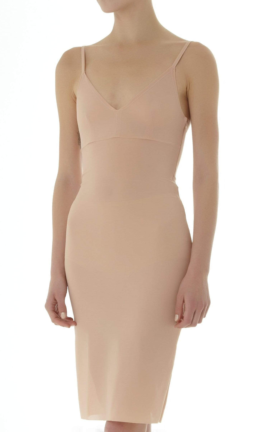 Powermesh Dress In Flesh from Roland Mouret