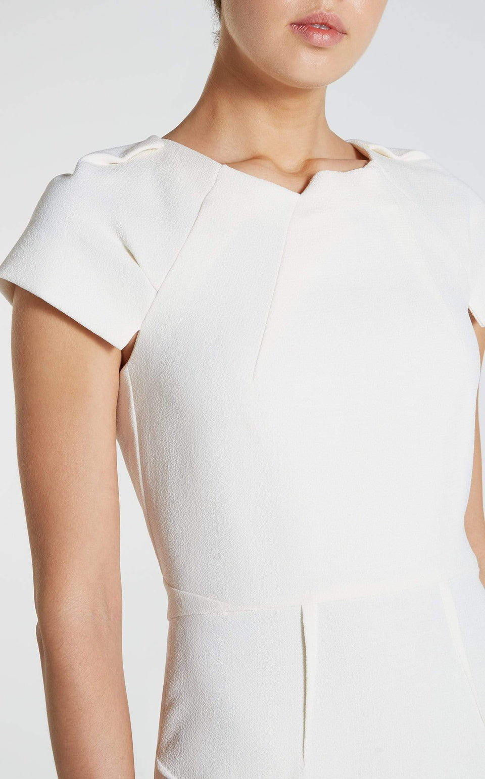 Scirocco Dress In White from Roland Mouret